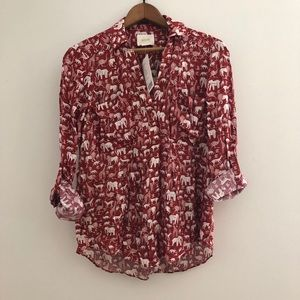 Anthropologie Maeve Top BNWT